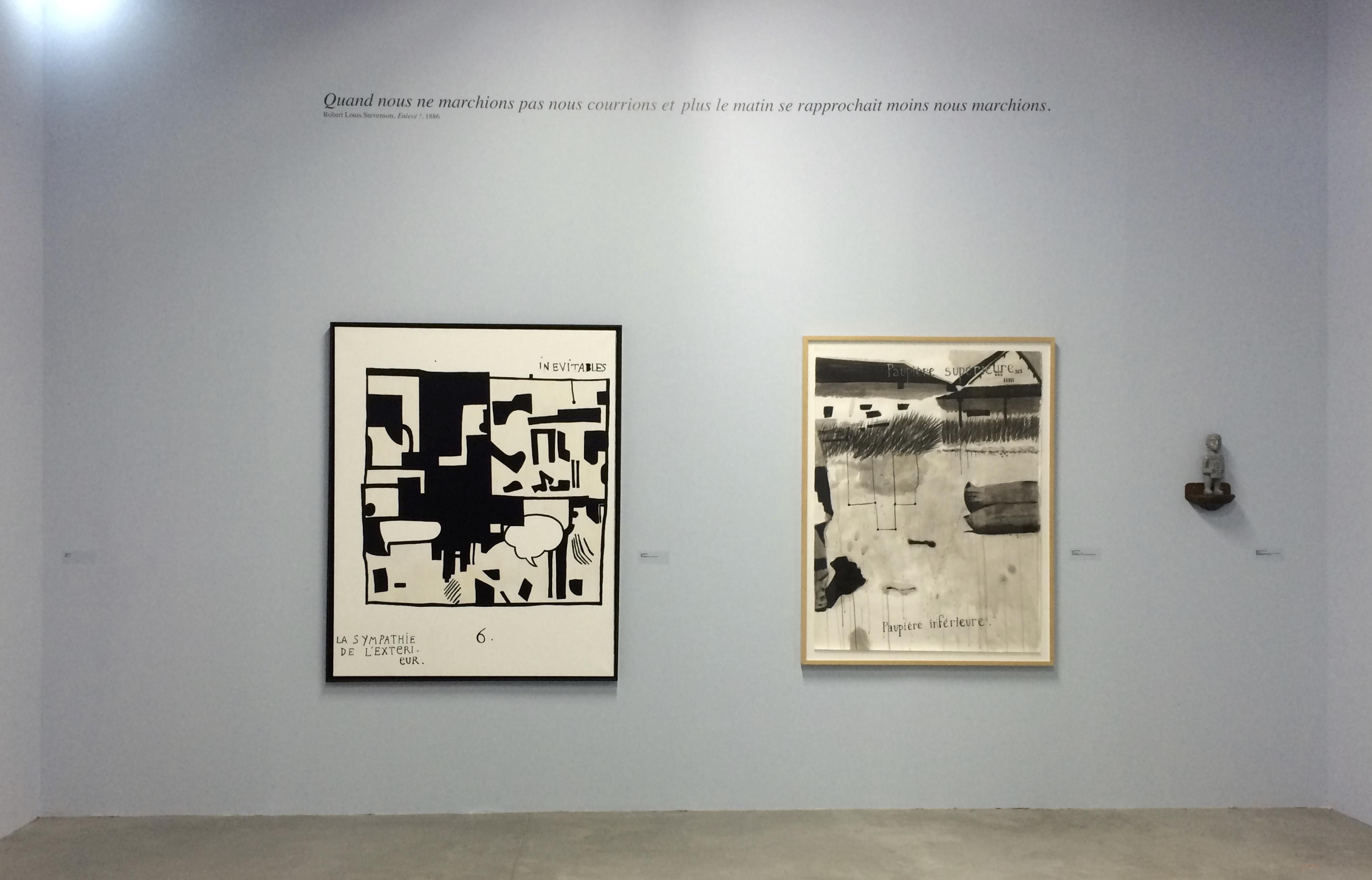 Vue de l'exposition L'Aventure des détails, Palais de Tokyo, 2016