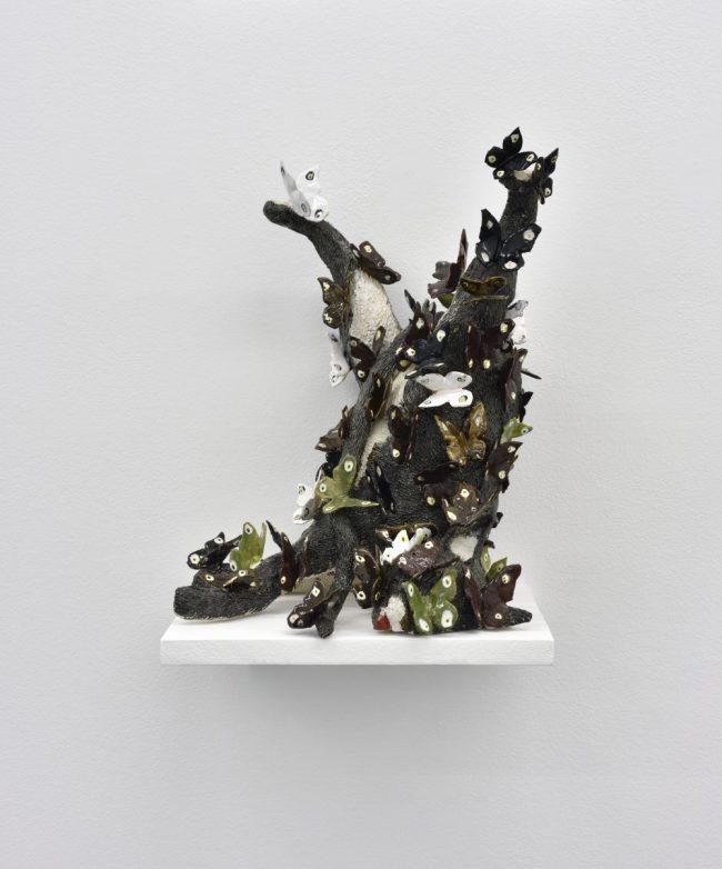 Sweet Amanite - Céramique émaillée - 31 x 35 x 47 cm - 2016