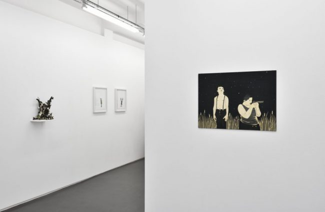 Vue d'exposition No one is innocent, Galerie Maïa Muller, 2016