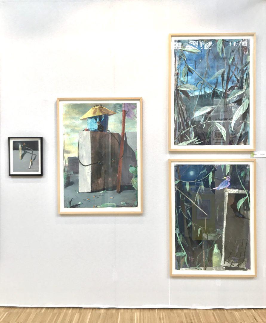 Drawing Now 2018, Focus : Fritz Bornstück, Galerie Maïa Muller