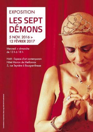 Les Sept Démons Commissaire : Sonia Recasens H2M Espace d'Art Contemporain, Bourg-en-Bresse 05.10.2016 - 12.02.2017