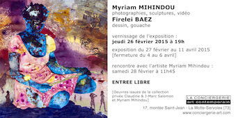 Myriam Mihindou & Firelei Baez