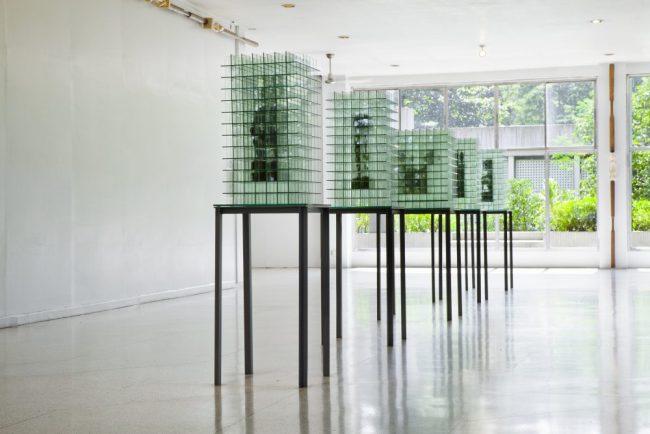 Vue de l'exposition Ifugao Red - Commissaire : Patrick Flores - Vargas Museum, Philippines 2014