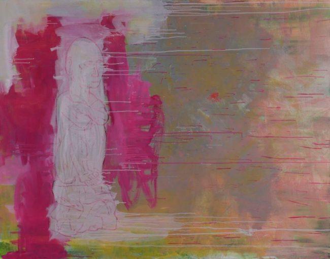 Sans titre - Acrylique et huile sur toile - 114 x 143 cm - 2016