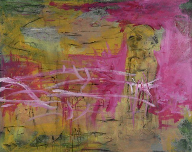 Sans titre - Acrylique et huile sur toile - 114 x 143 cm - 2015 / 2016
