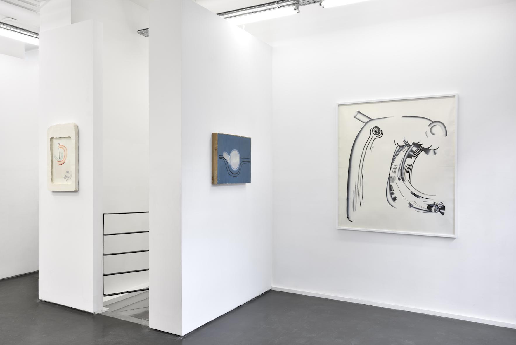 Vue de l'exposition Balance des impairs, Galerie Maïa Muller ©Rebecca Fanuele