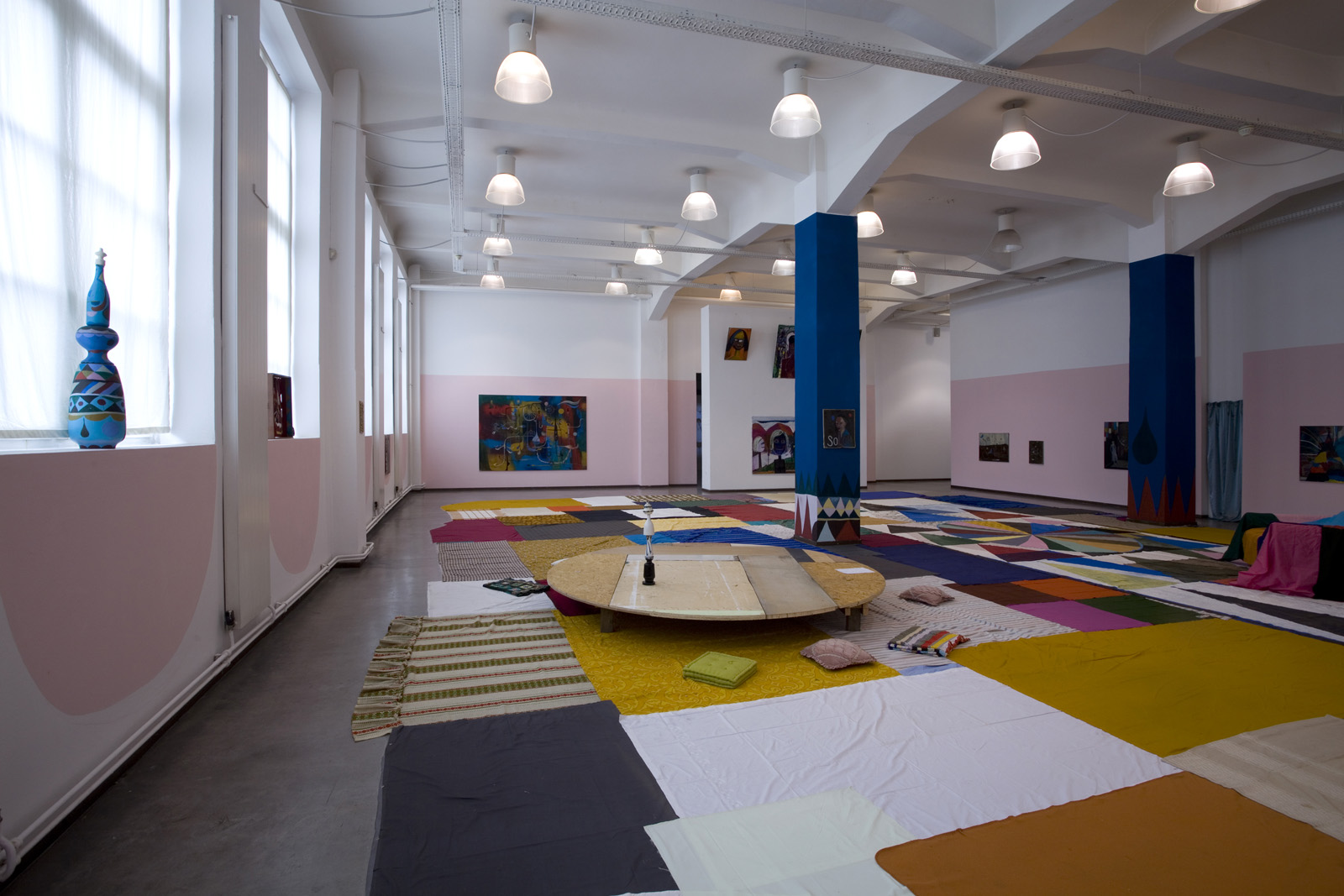Installation view, Namovala, Kunsthaus Hamburg, 2012