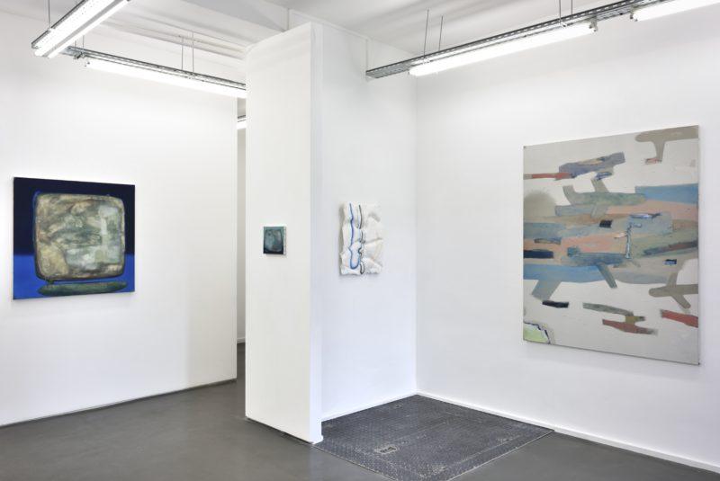 Vue d'exposition Claud'Io - Galerie Maïa Muller ©Rebecca Fanuele