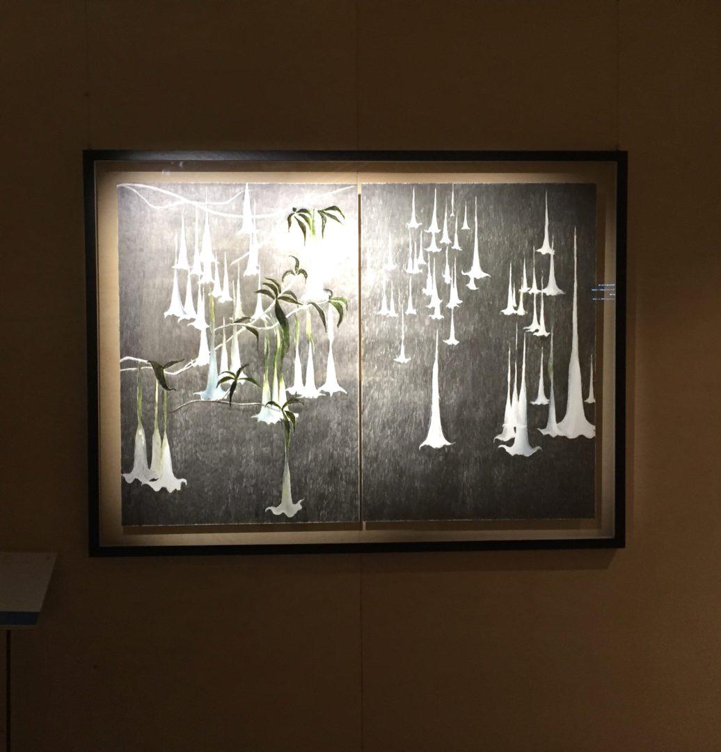 Vue de l'exposition Le Contemporain Dessiné - Les Arts Décoratifs, 2016, Paris