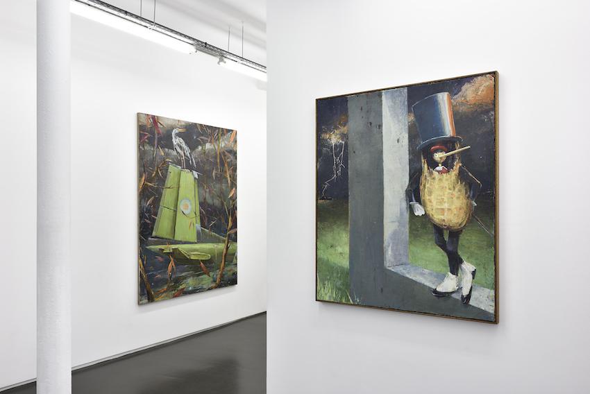 Fritz Bornstück - Speck und Schinken - Vue d'exposition